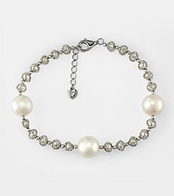 Effy® Freshwater Pearl Bracelet in Sterling Silver