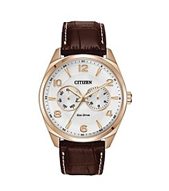 Citizen® Eco-Drive Men's Rose Goldtone Watch