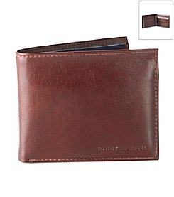 Tommy Hilfiger® Men's Tan 'York' Passcase Leather Wallet