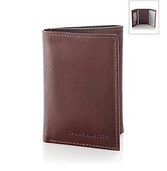 Tommy Hilfiger® Men's Tan 'York' Trifold & Valet Leather