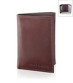 Tommy Hilfiger® Men's Tan 'York' Trifold & Valet Leather Wallet