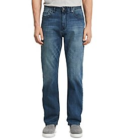 Calvin Klein Jeans® Men's Cove Blue Relaxed Straight Fit Denim