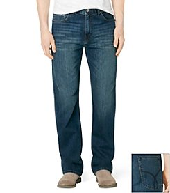 Calvin Klein Jeans® Men's Indigenous Blue Relaxed Straight Fit Denim