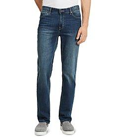 Calvin Klein Jeans® Men's Authentic Blue Straight Fit Denim