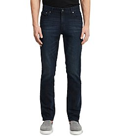 Calvin Klein Jeans® Men's Tinted Rinse Brown Slim-Straight Denim