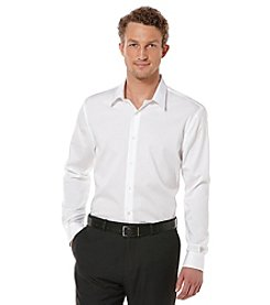 Perry Ellis® Men's Long Sleeve Twill Non-Iron Button-Down Shirt