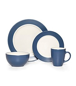 Pfaltzgraff® Harmony Rim Blue 16-pc. Dinnerware Set