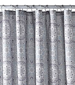 Excell Carthe Grey Shower Curtain