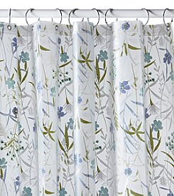 Excell In The Flowers Shower Curtain