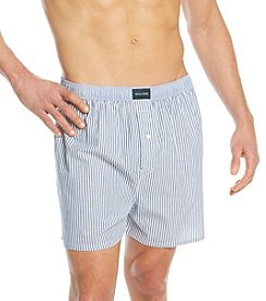 Tommy Hilfiger® Men's Blue' Vineyard Vertical' Striped Woven Boxers