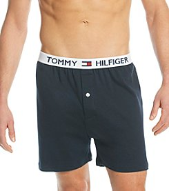 Tommy Hilfiger® Men's Navy Athletic Knit Boxers