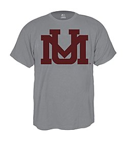 J. America® Men's Oxford Grey University of Montana Short Sleeve Arched Logo Tee