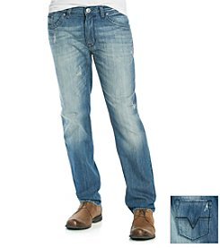 DKNY JEANS® Men's Indigo Blue 'Soho' Straight Fit Jeans
