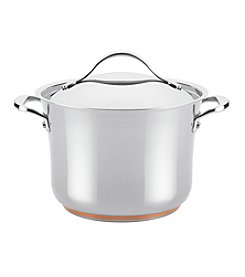 Anolon® Nouvelle Copper 6.5-qt. Stainless Steel Covered Stockpot