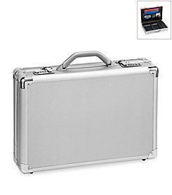 Solo® Silver Pro-Classic Attache Case