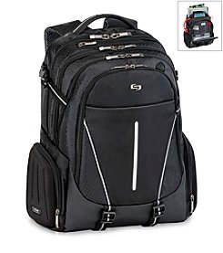 Solo® Black and Grey Active Backpack