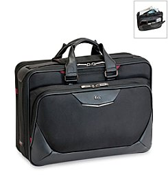 Solo® Black and Red Executive Smart Strap® Briefcase