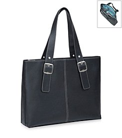 Solo® Black and Blue Classic Tote
