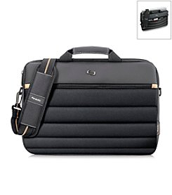 Solo® Black and Gold Pro Briefcase