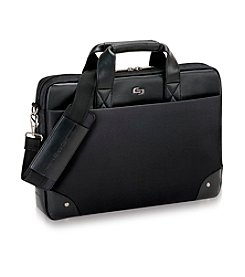 Solo® Black Executive Vintage Briefcase