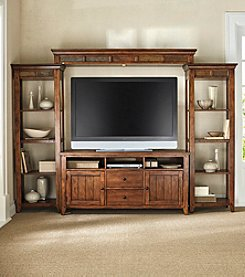 Liberty Furniture Hearthstone Entertainment Wall System Set