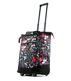 Olympia Butterfly Rolling Shopper Tote