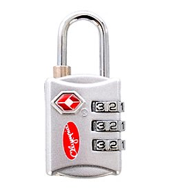 Olympia Silver TSA Combination Lock