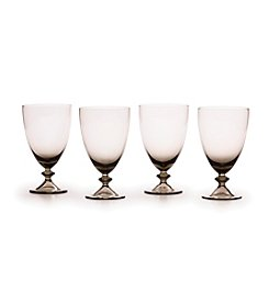 Mikasa® Ridgefield Smoke Set of 4 All Purpose Glasses