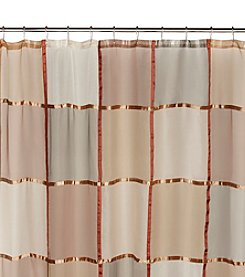 Excell Mosaic Terracotta Shower Curtain