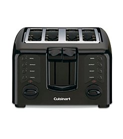 Cuisinart® Compact Black 4-Slice Toaster