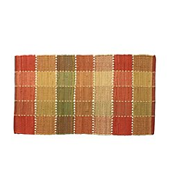 LivingQuarters Chindi Block Accent Rug