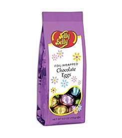 Jelly Belly® 6-oz. Foil-Wrapped Solid Chocolate Eggs Gift Bags