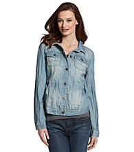 Ruff Hewn Wrinkle Wash Denim Jacket