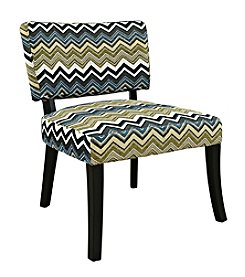 Powell® Zig Zag Armless Chair