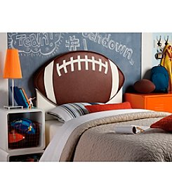 Powell® Kid's Upholstered Football Twin Headboard