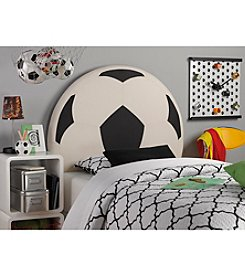 Powell® Kid's Upholstered Soccer Twin Headboard