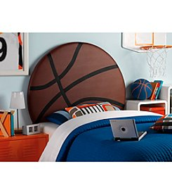Powell® Kid's Upholstered Basketball Twin Headboard