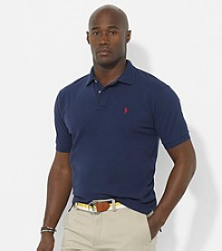 Polo Ralph Lauren® Men's Big & Tall Classic-Fit Short-Sleeved Mesh Polo