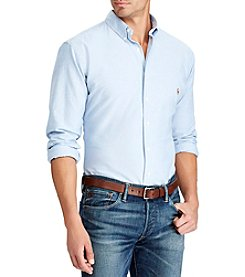 Polo Ralph Lauren® Men's Big & Tall Long Sleeve Classic-Fit Oxford Button-Down Shirt