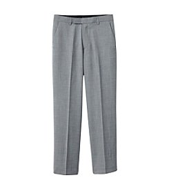 Calvin Klein Boys' 8-20 Grey Sharkskin Pants
