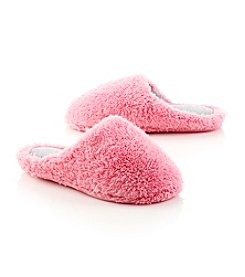 Dearfoams Fluffy Terry Clogs