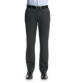 Calvin Klein Men's Granite Fine Striped Straight Fit Pant