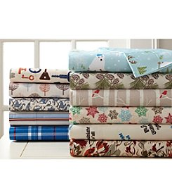 Shavel Home Products Micro Flannel® Patterned Sheet Set
