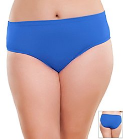 Becca Etc.® Plus Size Color Scheme Full Swim Pants