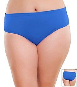 Becca Etc.® Plus Size Color Scheme Full Swim Pants