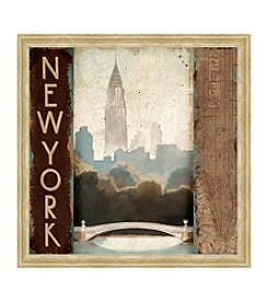 Greenleaf Art New York Framed Canvas Art