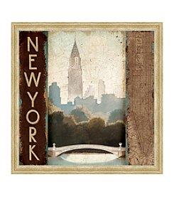 Greenleaf Art New York Framed Canvas Art