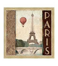 Greenleaf Art Paris Framed Canvas Art