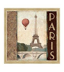 Greenleaf Art Paris Framed Canvas Art