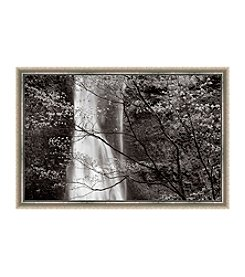 Greenleaf Art Black and White Tree Framed Canvas Art